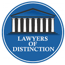 lawyer of distinction award winner